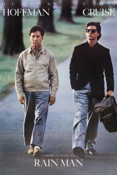 Rain Man movie font