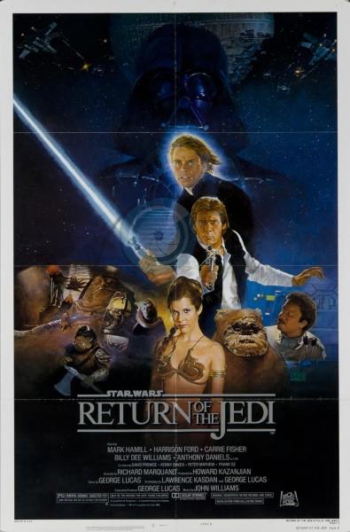 Star Wars: Episode VI - Return of the Jedi movie font