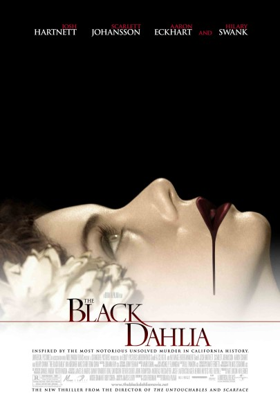 The Black Dahlia movie font