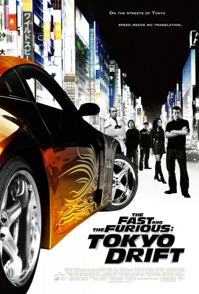 The Fast and the Furious 3 - Tokyo Drift movie font