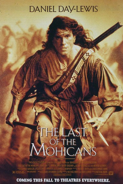 The Last of the Mohicans movie font