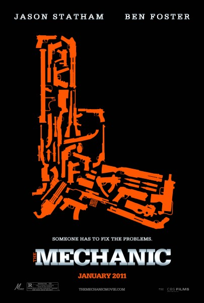 The Mechanic movie font