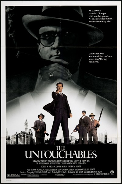 The Untouchables movie font