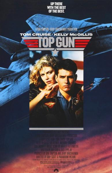 Top Gun movie font