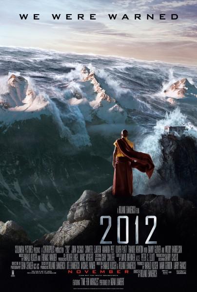 2012 movie font