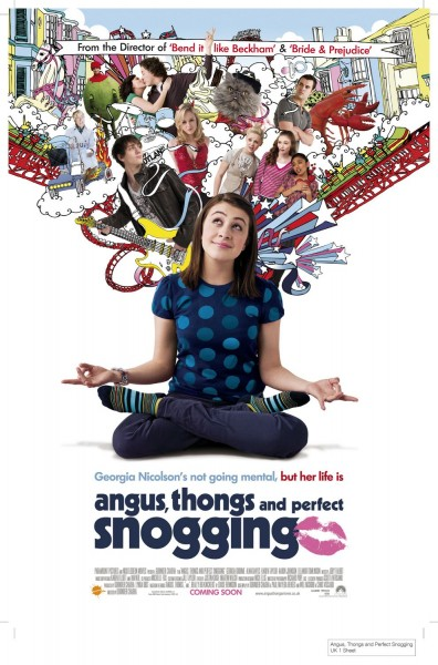 Angus, Thongs and Perfect Snogging movie font