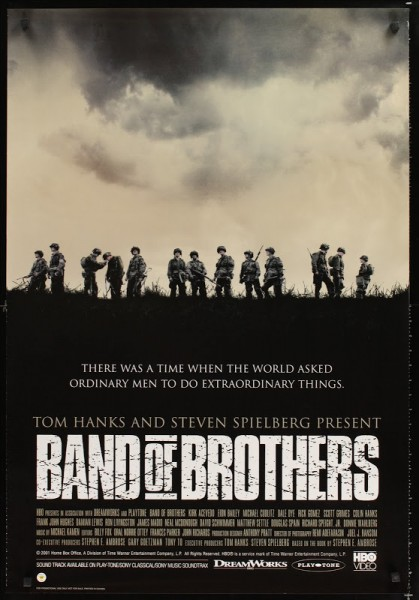 Band of Brothers movie font