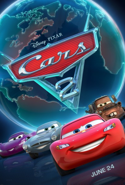 Cars movie font