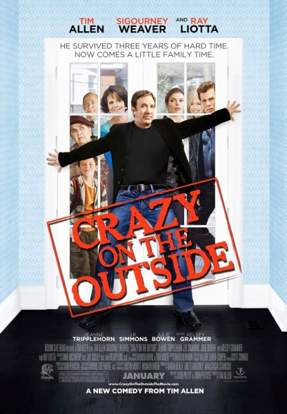 Crazy on the Outside movie font
