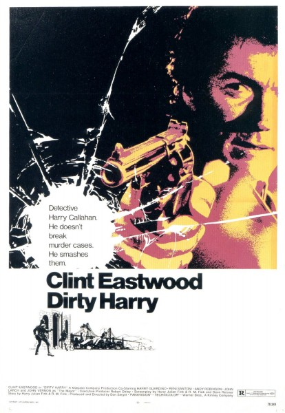 Dirty Harry movie font