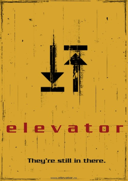 Elevator movie font