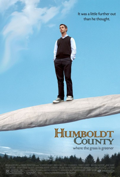 Humboldt County movie font