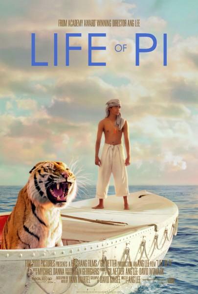 Life of Pi movie font