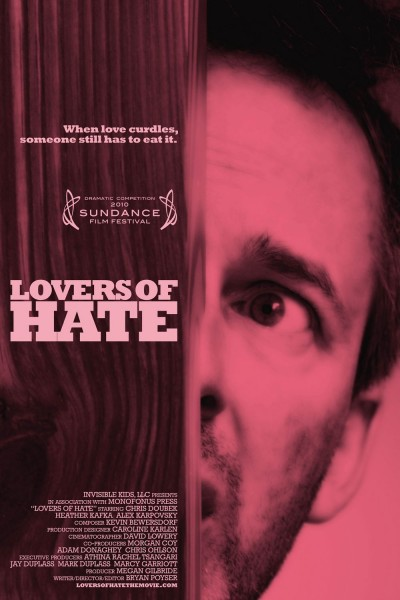 Lovers of Hate movie font