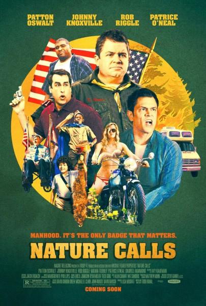 Nature Calls movie font
