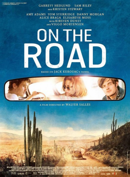 On the Road movie font