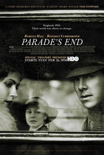 Parade's End movie font