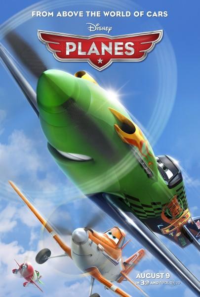 Planes movie font