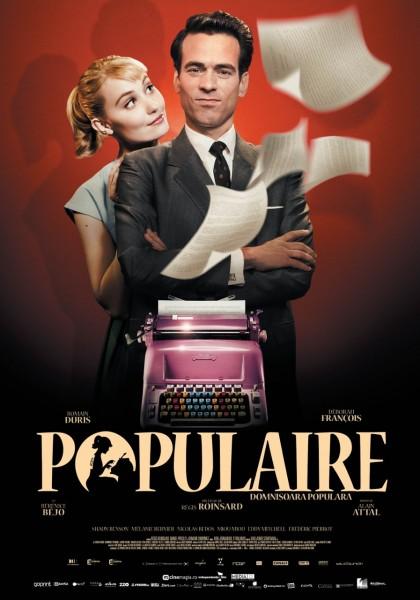 Populaire movie font