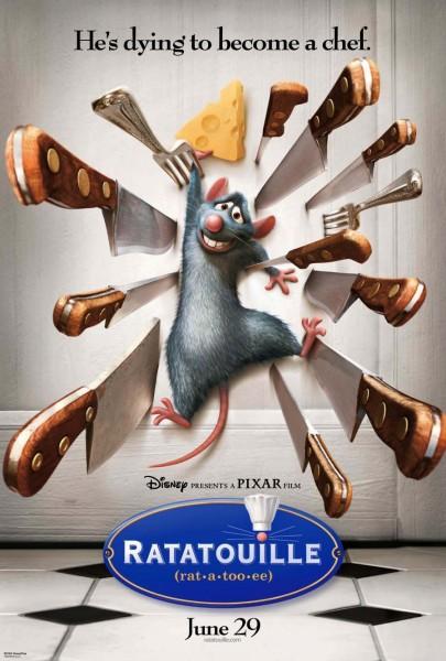 Ratatouille movie font