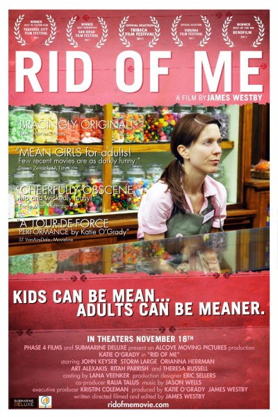 Rid of Me movie font