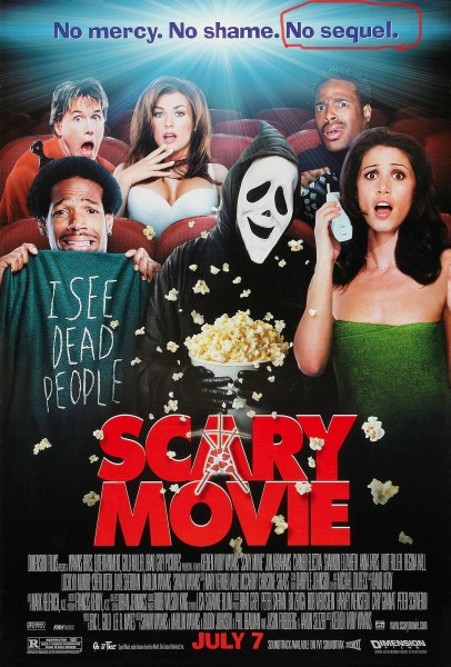 Scary Movie movie font