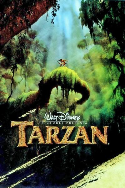 Tarzan movie font