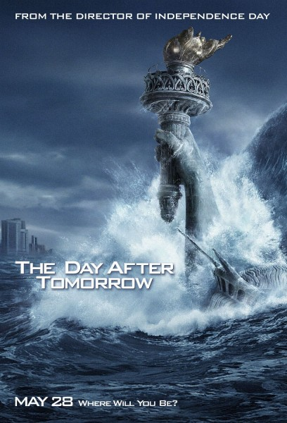 The Day After Tomorrow movie font