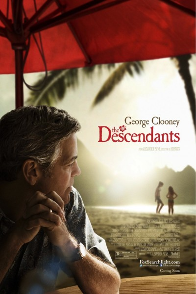 The Descendants movie font