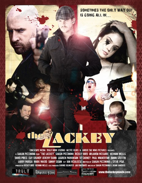 The Lackey movie font