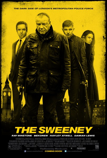 The Sweeney movie font