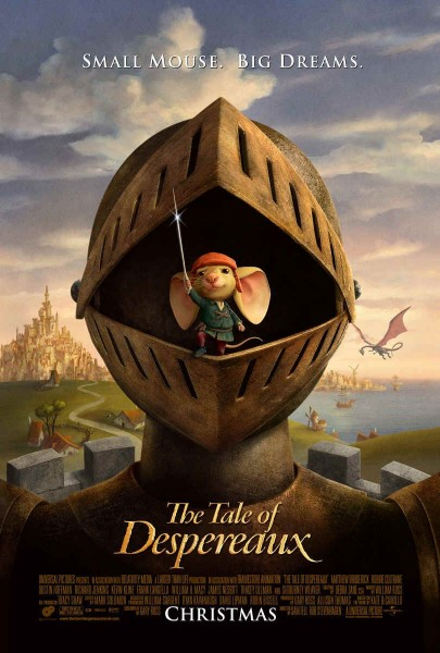 The Tale of Despereaux movie font