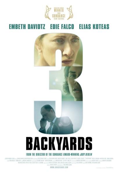 3 Backyards movie font