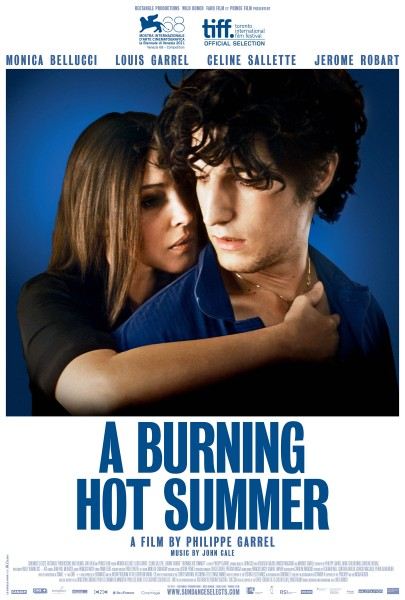 A Burning Hot Summer movie font