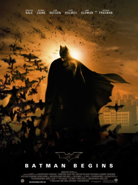 Batman Begins movie font