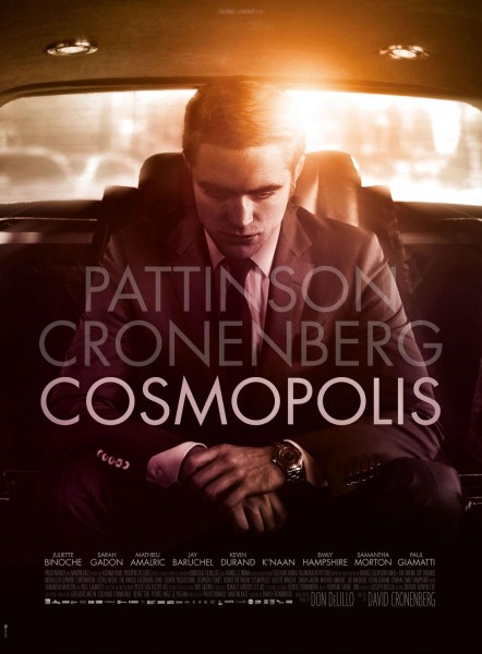 Cosmopolis movie font