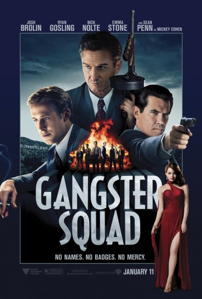 Gangster Squad movie font