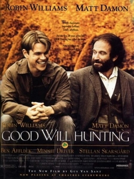 Good Will Hunting movie font