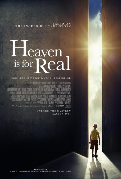 Heaven Is For Real movie font