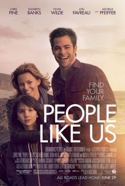 People Like Us movie font