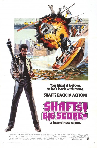 Shaft's Big Score movie font