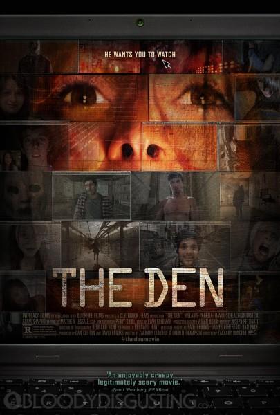 The Den movie font