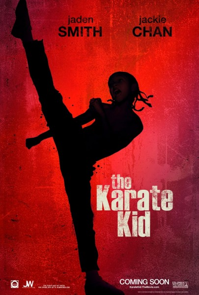 The Karate Kid movie font