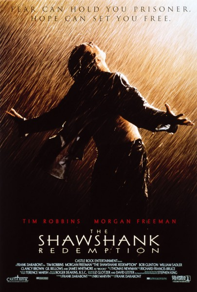 The Shawshank Redemption movie font
