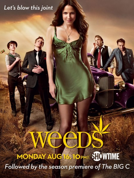 Weeds movie font