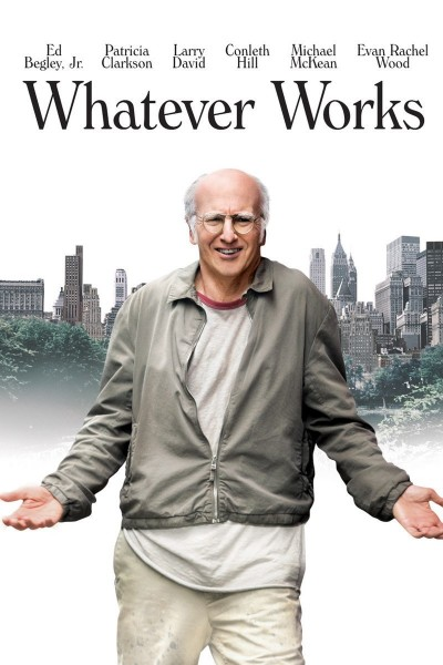 Whatever Works movie font