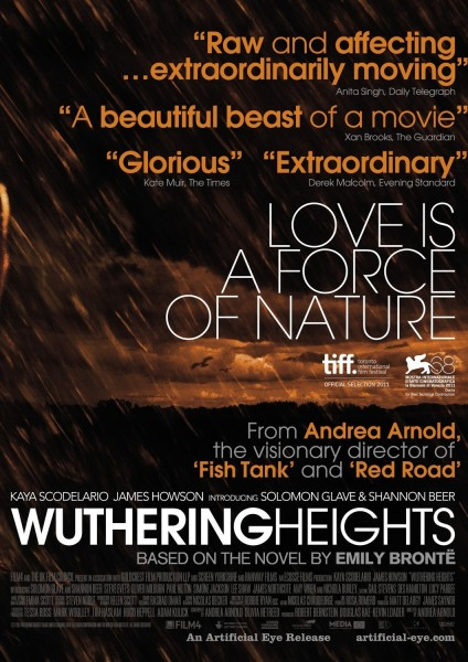 Wuthering Heights movie font