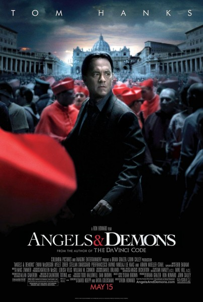 Angels & Demons movie font