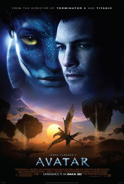 Avatar movie font