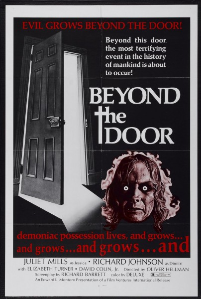 Beyond the Door movie font